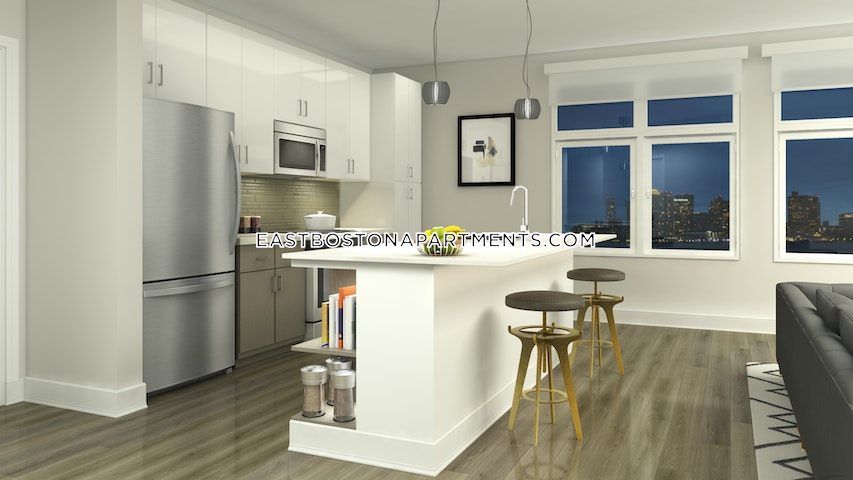 1 Bed 1 Bath - Boston - East Boston - Maverick $2,575